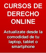 Cursos de Derecho Online para estudiantes y abogados.